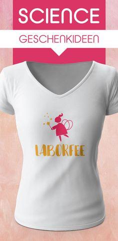 Science Geschenkidee für Laborfeen #ta #bta #science #tshirt #scientist #laboratory V Neck, T Shirts For Women, Hats, Fashion, Textile Printing, Women's T Shirts, Fairy, Gifts, Moda