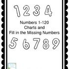 $ This packet contains a variety of charts to practice numbers from 0 to 120. There are charts where students write all the numbers up to 120 and charts for ranges of numbers. #TPT #math #numbers