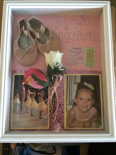 Shadow Box 'My 1st Recital' turned out exactly how I imagined.