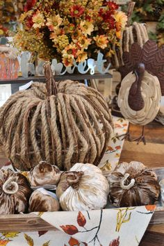 Fall 2018 is here! Come in and see the store fully decorated now. #falldecorkloterfarms