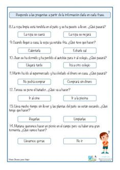 Spanish Lessons For Kids, Spanish Class, Kids Math Worksheets, Reading Passages, Math For Kids, Kindergarten Reading, Planner, Spanish Language, Speech Therapy