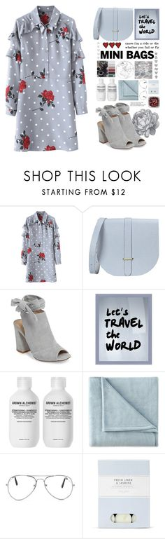"""Mini bag stateman"" by foximperial ❤ liked on Polyvore featuring The Cambridge Satchel Company, Kristin Cavallari, PTM Images, Grown Alchemist, JCPenney Home, Nasty Gal and Laura Ashley"