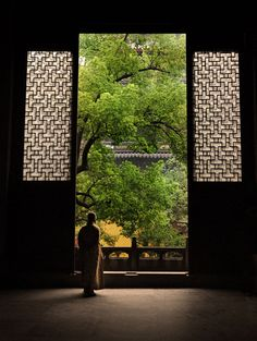Keep Me Where The Light Is...  by jamesflynn23.deviantart.com                                Buddist Temple.    Shouzhou, China.