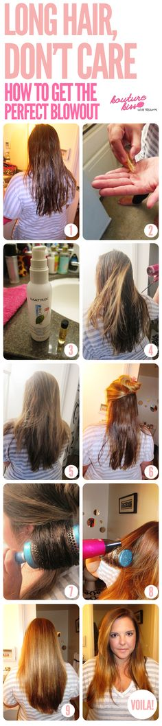 Long Hair Don't Care! How To Get The Perfect Blowout