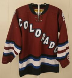 1093db0543d Koho Colorado Avalanche Throwback NHL Hockey Jersey Youth Small/Medium S/M # Koho
