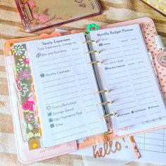 Personal Planner Printables Monthly Budget and Yearly Balance Bill Organizer Financial Planner Filofax Personal Inserts Budget Planner PDF by EasyLifePlanners on Etsy