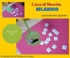 Caza al Moscón Silábico, de Almudena Polo :El sonido de la hierba al crecer Projects For Kids, Phonological Awareness, Special Education, Hunting, Grow Taller, Herbs, Kids Service Projects
