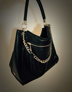 This is a 100% Italian Leather Hobo bag designed by NIKKI WILLIAMS  available at www.nikkiwilliams.com  nikkiwilliams  hobo  italianleather   leather  black ... abcbef45ce49b