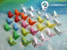 Origami motýl z papíru - jednoduchý návod krok za krokem