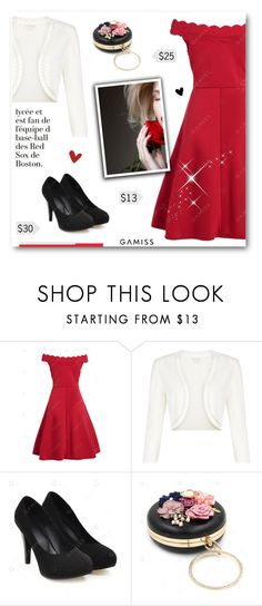 """""""There Is A Shade Of Red For Every Woman"""" by paradiselemonade ❤ liked on Polyvore featuring Monsoon"""