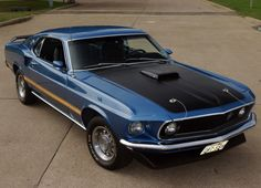 1969 Ford Mustang Mach 1 Larry's the fags car