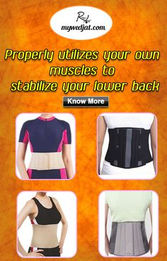 An ideal belt provides Comfortable immobilization and reduce mild back  ache