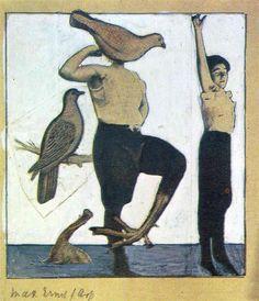 Switzerland, Birth-Place of Dada, 1920 Max Ernst