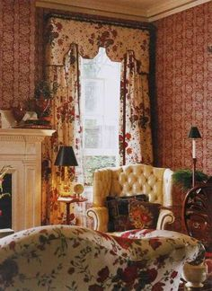 English country style - traditional floral