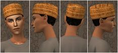 TS3 to TS2 Hair Conversion - Africa Inspired Collection