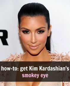 Kim Kardashian's makeup artist taught us how to get her smokey eye makeup