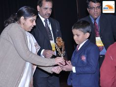 National Winner awarded by Dr Sunita S Kaushik