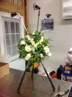 Delightful Hole-In-One Golf Gifts Ideas. Spectacular Hole-In-One Golf Gifts Ideas. Golf Club Sets, Golf Clubs, Thema Golf, Golf Centerpieces, Golf Ball Crafts, Golf Wedding, Wedding Ceremony, Wedding Stuff, Golf Club Grips