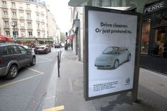 With Politicians in Paris Discussing Climate Change, This 'Brandalism' Group Hung Clever Ads Challenging the Corporate Presence
