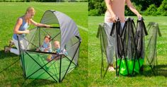 Summer Infant Pop n Play Ultimate Playard with Canopy $54.99 (Reg $99.99)  Spend time outside with the babies  Woot! is slashing 45% off on thisSummer Infant Pop n Play Ultimate Playard with Canopy. Have your baby hangout with you in the garden in comfort. This foldable playpen wont occupy too much space in yourcabinet when not in use.  Summer Infant Pop n Play Ultimate Playard with Canopy $54.99 (Retail $99.99)  Freestanding and portable for use inside or outdoors with mesh sides for easy…