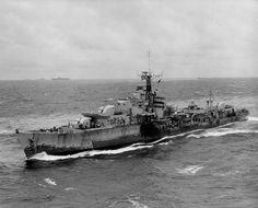 Military Destroyer | Description British T-class destroyer 1945.jpg