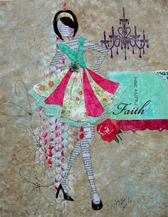 Mixed Media Collage - Julie Nutting