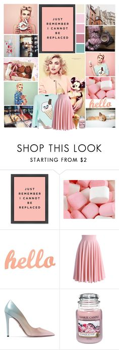 """""""Dreams don't have an expiration date.."""" by leannesugarplum ❤ liked on Polyvore featuring Chicwish, Prada, Yankee Candle and Dolce&Gabbana"""
