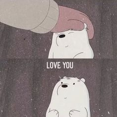 my heart beats only for you We Bare Bears Wallpapers, Panda Wallpapers, Cute Cartoon Wallpapers, Bear Wallpaper, Mood Wallpaper, Disney Wallpaper, Wallpaper Wallpapers, Ice Bear We Bare Bears, We Bear