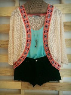American Threads - Crochet Kimono