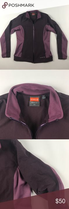 Medium Merrell Full Zip Soft Shell Jacket Purple Excellent condition Merrell Jackets & Coats