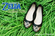 It's Dangerous To Go Alone! Make This! Zelda Ballet Flats