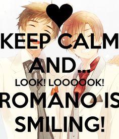 OMG look romano <3