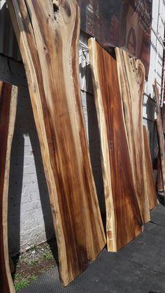 tablones de parota Slab Table, Reclaimed Lumber, Got Wood, Wood Slab, Wood Texture, Wood Design, Types Of Wood, Woodworking, Fashion Design