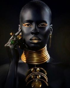 مساء الجمال #Beauty #Africa #gold #Jewelry by hishamun