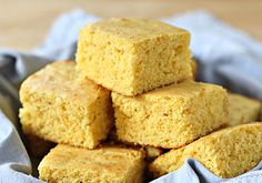 Cornbread, preferably served with collard greens and black eyed peas    Photo courtesy The Galley Gourmet