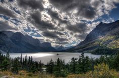 Wild Goose Island Overlook HDR, by Brandon Kopp via Flickr. Many Glacier, Buy Prints, Taking Pictures, Hdr, Beautiful Images, Lakes, Shadows, Photographers, National Parks