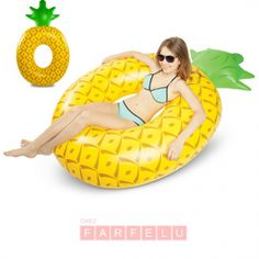 Ananas Géant Pool Float