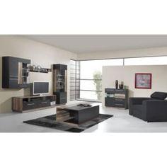 Mobilă living și sufragerie | FAVI.ro Bureau Design, Tv Wall Cabinets, Decoration Design, Aluminium, Corner Desk, Modern, Living Room, Furniture, Home Decor