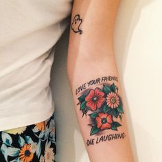 """fuckyeahpoppunktattoos: """"""""Submitted by @endless-fascination """" from Scott Smith @ Olde City in Philly. just finished hours ago. defend pop punk!! (man overboard). """""""