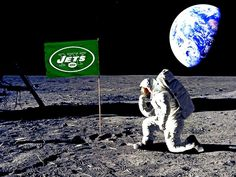 New York Jets Rule the moon