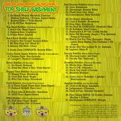 The full tracklist! Big Tunes Vol. 14 coming to a location near you very soon; inna straight dancehall stye. #dancehall #brimstonesounds #bigtunes #topshelfbashment #jamaica #djlife #mixtape #dj #reggae #volume14 #tracklist