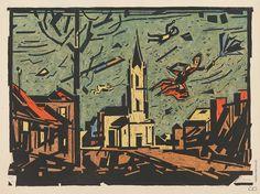 Fulla-Slovak painter and illustrator, (February Ružomberok – April Bratislava) Bratislava, Illustrators, Milan, Artist, Modern, Painting, Image, April 21, February