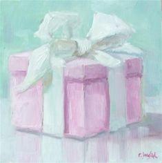 "Daily Paintworks - ""It's a Girl"" by Carol Josefiak"
