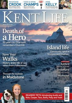 Cover of 'Kent Life' January 2015