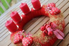 www.benbino.com | DIY | basteln | Advent | Adventskranz | advent wreath  >>Möchtest Du einen meiner Adventskränze kaufen, dann schreib mich an unter info(@)benbino(.)de<<