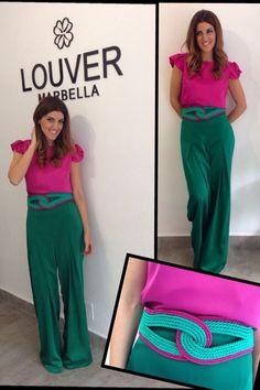 Resultado de imagen para outfits cinturon verde