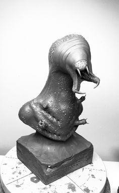 Cave Monster/Concept Sketch Plasticine uDock