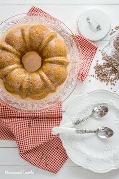 Bizcocho de lentejas. Lentils bundt cake