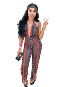 d2d1e7caf08 High-end coveralls Europe and the United States sexy mesh backless jumpsuit.  Backless JumpsuitMesh JumpsuitRompers WomenRed StripesPlaysuitBody ...