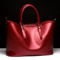 Bags - Monaco Red Spark Matte Bag - Small